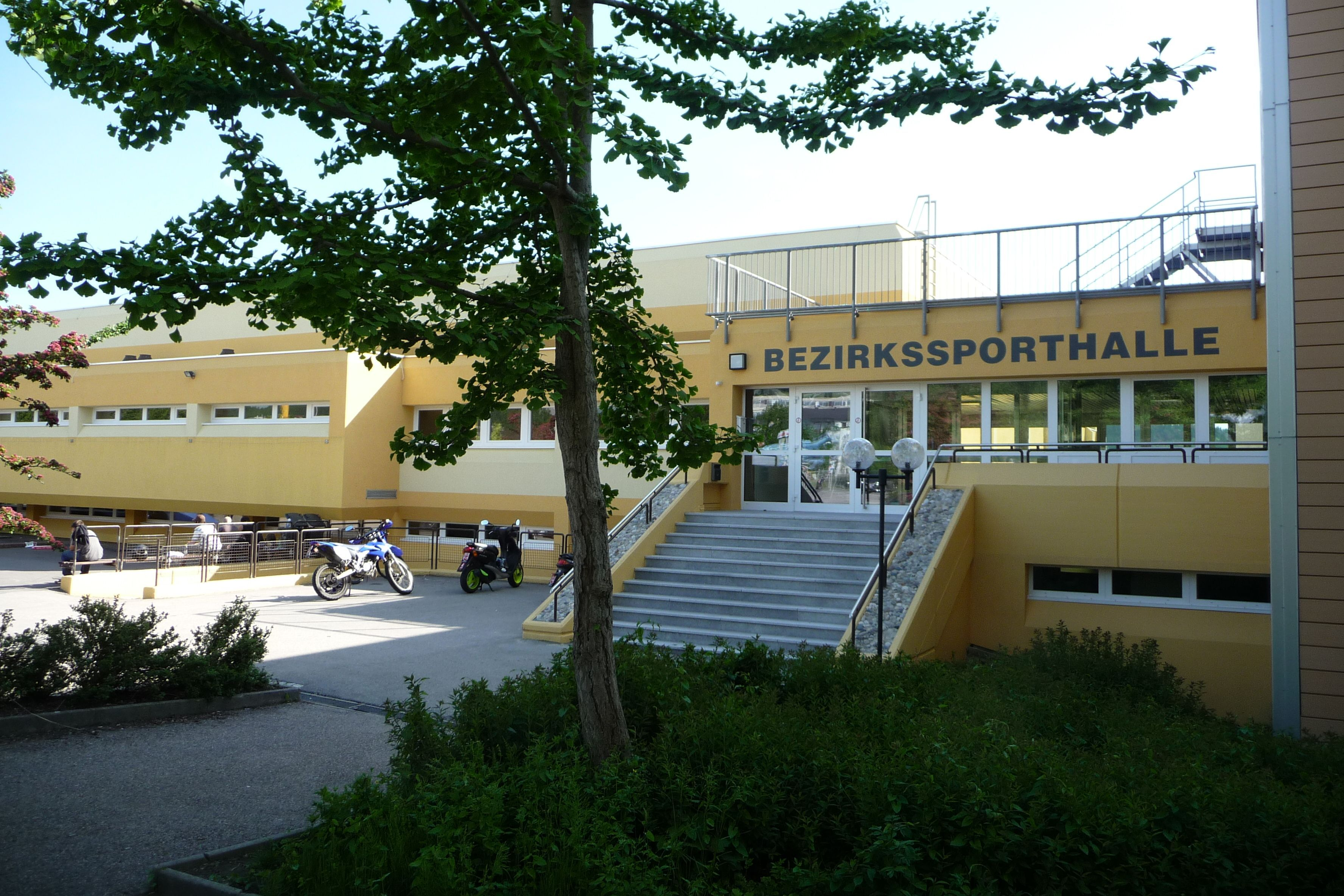 Bezirkssporthalle Rohrbach (Generalsanierung)