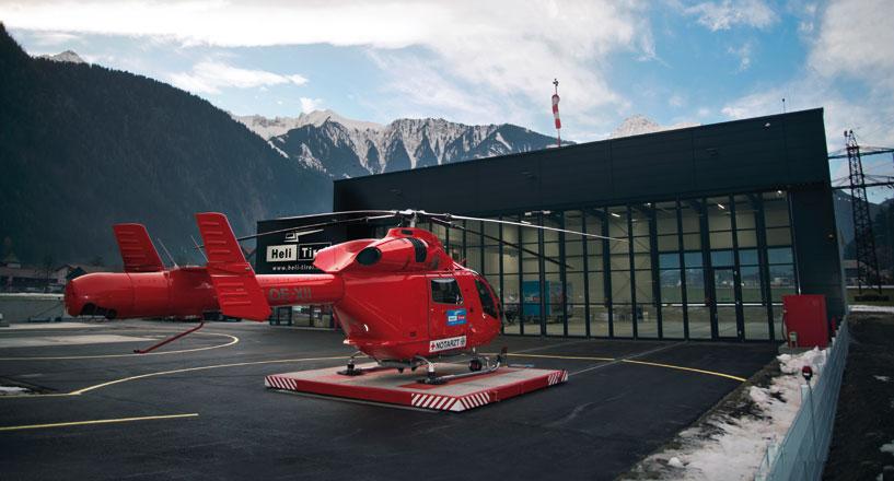 Heliport Knaus, Mayrhofen (Zillertal)