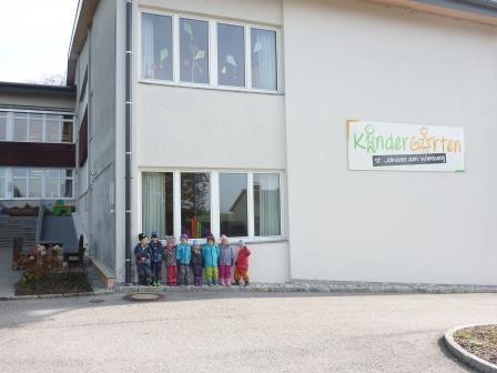 Schule/Kindergarten/Turnsaal St. Johann/Wbg.